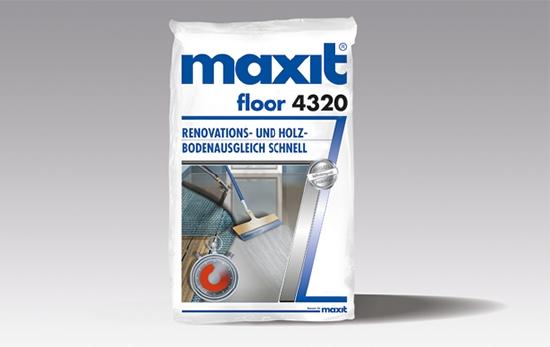 maxit floor 4320 Renovations- und Holzbodenausgleich schnell CT-C30-F7