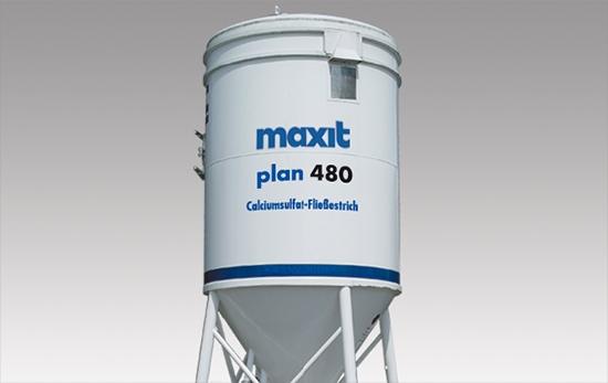 maxit plan 480 Calciumsulfatgebundener Fließestrich