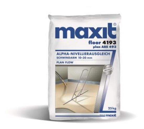 maxit floor 4193 Alpha-Dünnestrich extra