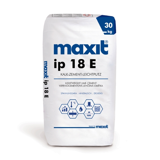 maxit ip 18 E Kalk-Zement-Leichtputz
