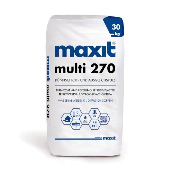 maxit multi 270 Dünnschicht- und Ausgleichsputz