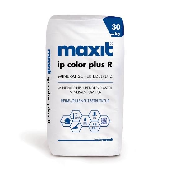 maxit ip color plus R Münchner Rauputz/Rillenputz, vergütet