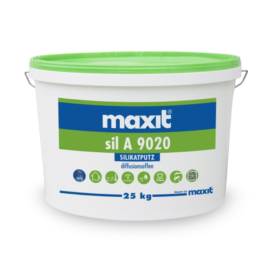 maxit sil A Oberputz auf Wasserglasbasis