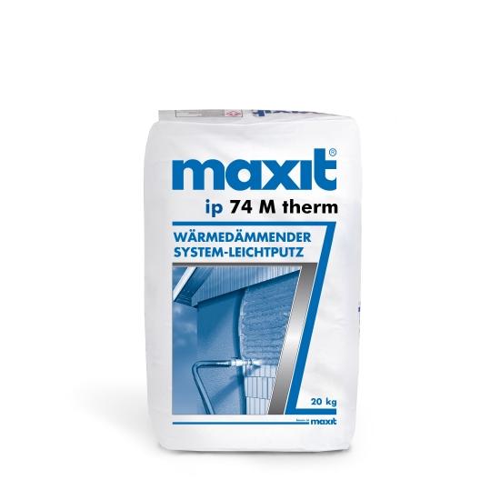 maxit therm 74 M Faserarmierter System-Leichtputz