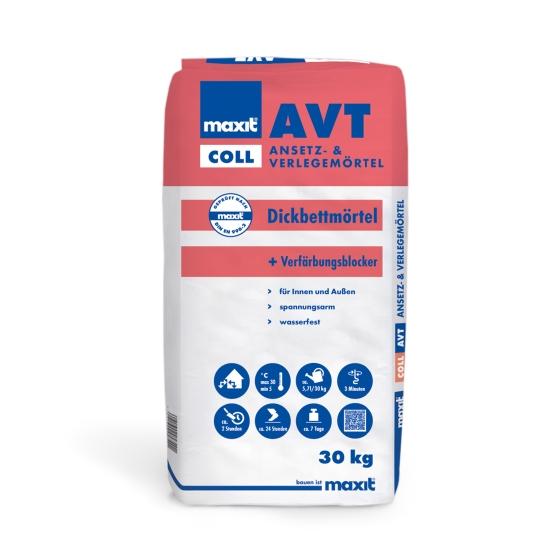 maxit coll AVT Ansetz- und Verlegemörtel Trass
