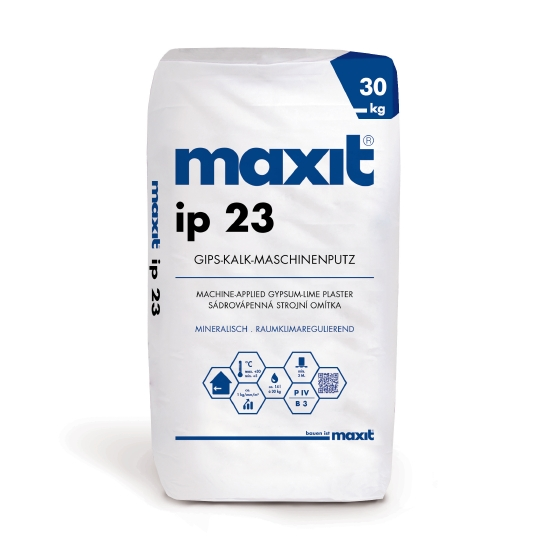 maxit ip 23 Gips-Kalk-Maschinenputz