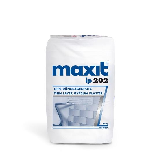 maxit ip 202 Gips-Dünnlagenputz für Planmauerwerke