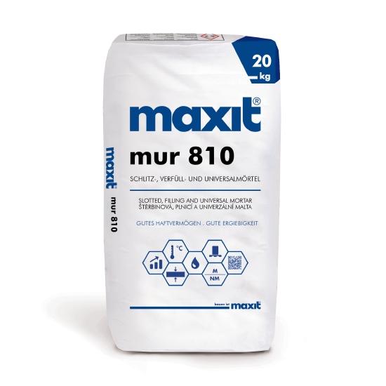maxit 810 Schlitz-,Verfüll- und Universalmörtel
