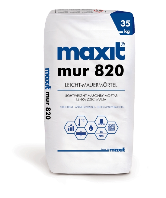 maxit therm 820 Leicht-Mauermörtel LM 36