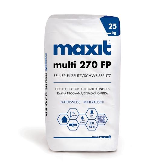 maxit multi 270 FP Feiner Filzputz/Schweißputz