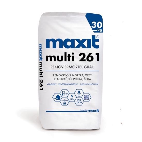 maxit multi 261 Renoviermörtel, grau