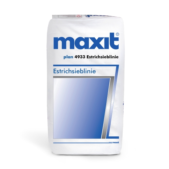 maxit plan 4933 Estrichsieblinie
