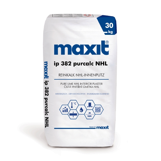 maxit ip 382 purcalc NHL Reinkalk-Innenputz