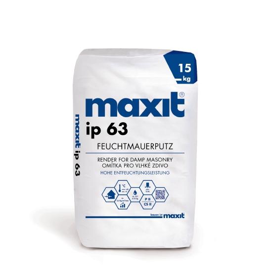 maxit ip 63 Feuchtmauerputz
