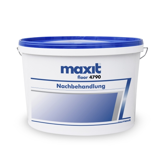 maxit floor 4790 Nachbehandlung