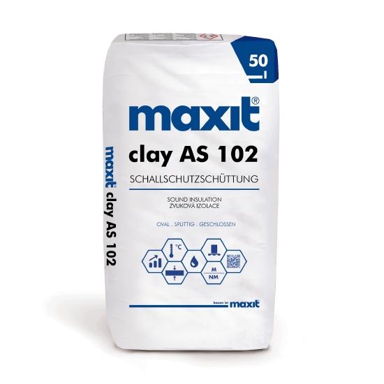 maxit clay AS 102 Schallschutzschüttung
