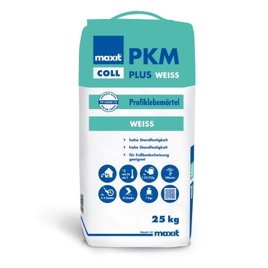 maxit coll PKM plus weiß Profiklebemörtel weiß