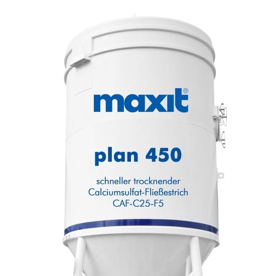 maxit plan 450 Calciumsulfat-Fließestrich