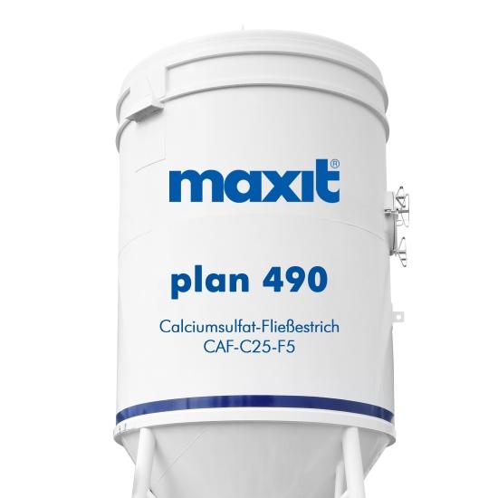 maxit plan 490/486 Calciumsulfatgebundener Fließestrich