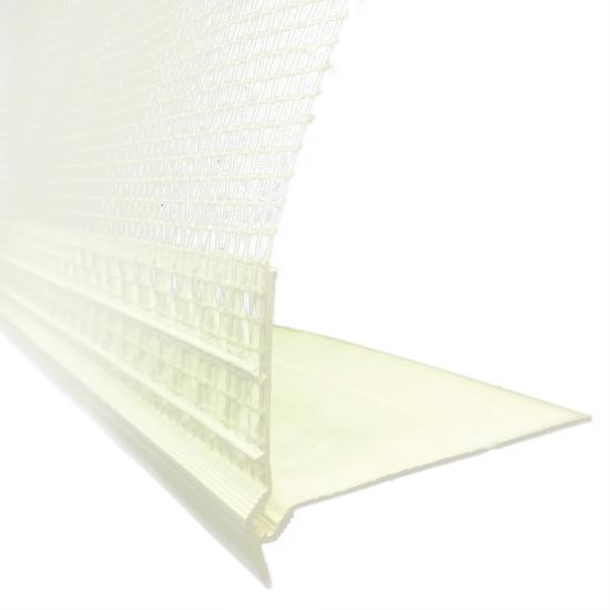 maxit Sockelmontagewinkel PVC