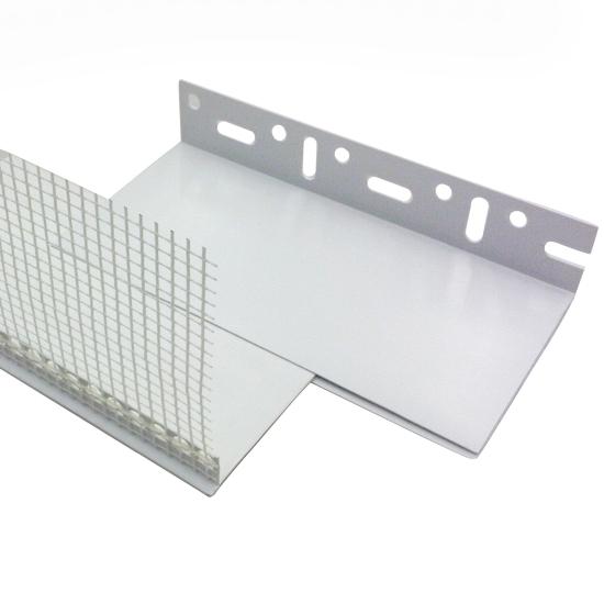 maxit Sockelabschlussprofil PVC variabel
